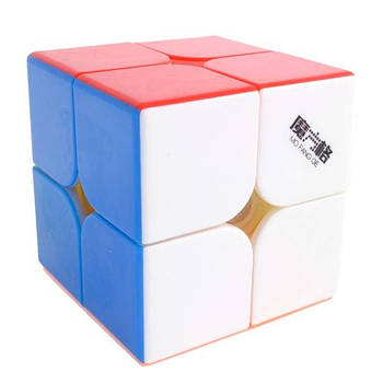 QiYi WuXia 2x2 stickerless | Кубик 2х2 без наклейок