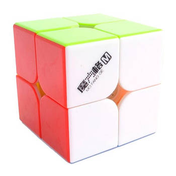 QiYi WuXia M 2x2 stickerless | Кубик 2х2 без наклейок