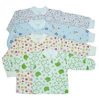 Кофточки для новорожденных, на кнопках (начес)