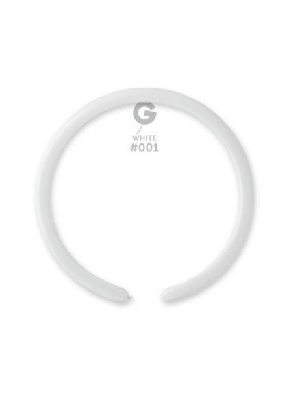 Куля для моделювання (тонкі) Пастель білий 01