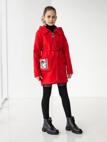 Пальто принтованое кашемировое для детей, фото 2