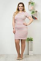 Стильні жіночі сукні оптом Рожевий/Фрез, фото 1