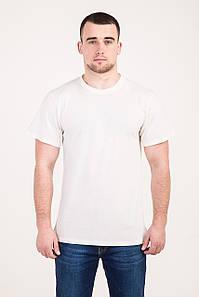Класична чоловіча футболка білого кольору