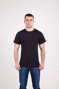 Класична чоловіча футболка чорного кольору
