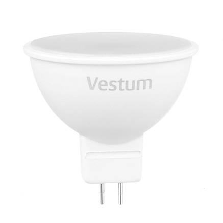 Лампа LED Vestum MR16 3W 3000K 220V GU5.3, фото 2