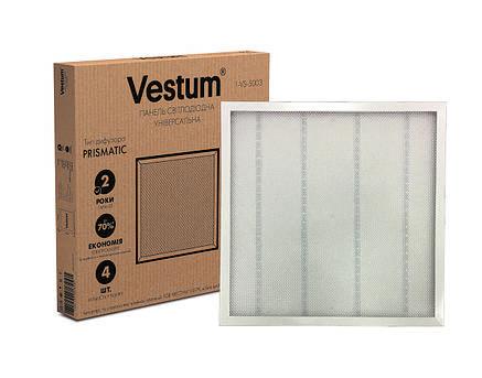 Панель светодиодная Vestum PRISMA 36W 6500K 220V 600x600 1-VS-5003, фото 2