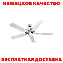Потолочный вентилятор Helios DVAW 130 (5 лопастей) ЦВЕТ БЕЛЫЙ!