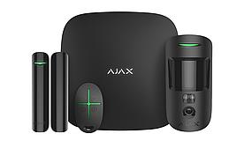 Комплект системы безопасности Ajax (StarterKit Cam Plus) Hub+ MotionProtect + DoorProtect + SpaceControl