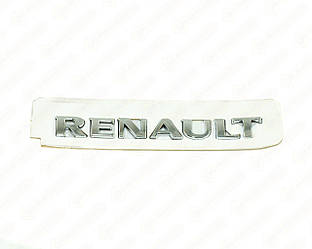 "Напис ""RENAULT"" (задньої двері) на Renault Trafic II 2001->2006 — Auto France - BRN1516"