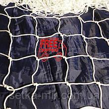 Сітка для футзалу, гандболу «АНТИМОРОЗ» біла (комплект з 2 шт.)