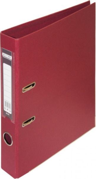 Папка-реєстратор ELITE двухстор. А4, 50мм, PP, бордовий, збірний (BM3002-13c)