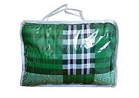 🔝 Электропростынь з підігрівом полуторне, колір - зелений, 150x80 див. Тріо   🎁%🚚