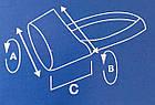 Намордник нейлоновый № 3 Croci для добермана, лабрадора 19*25*10 см, фото 2