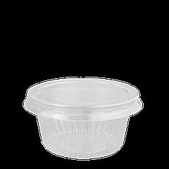 Соусница с крышкой 50 мл. РЕТ (4306)  , уп/100шт
