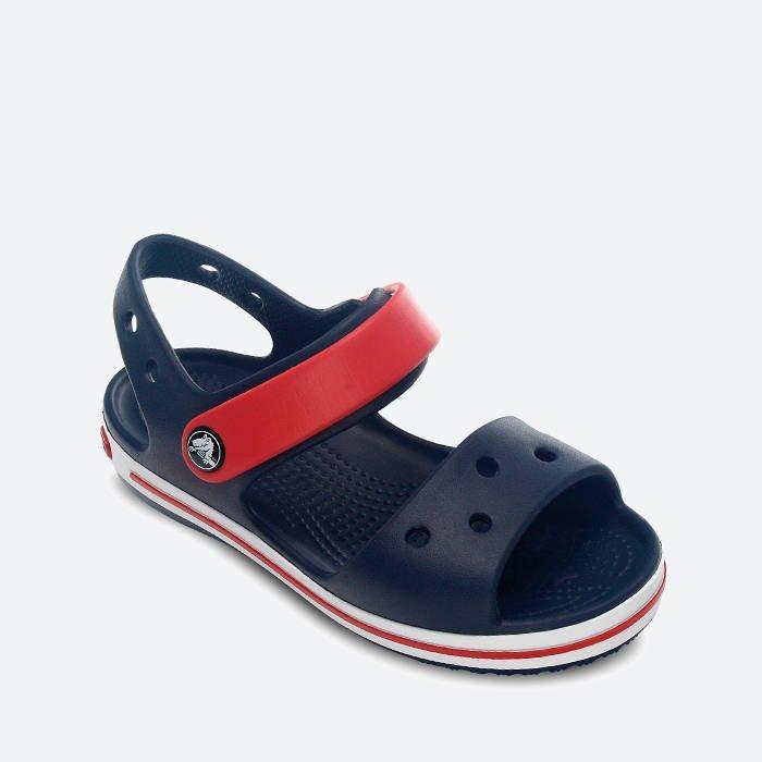 Дитячі сандалії крокс Crocs Crocband Sandal С9 17 см Темно-синій