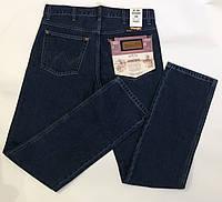 Джинсы мужские , Wrangler, темно-синего цвета, 100% cotton, 32-40.