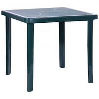 Стол Nettuno / Нетуно 80х80 пластик зеленый ТМ AMF