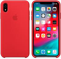 Чехол для iPhone XR Silicone Case бампер (Red)