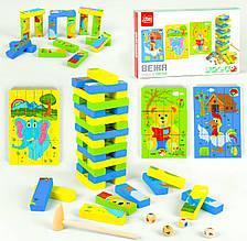 Дерев'яна гра Вежа в коробці