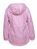 Демісезонна подовжена куртка для дівчинки, фото 2
