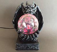 Светильник плазменный с молниями