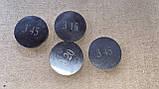 Шайба регулировочная клапана Ваз 2108 2109 21099 2113 2114 2115 АвтоВаз все размеры (цена за 1шт), фото 3