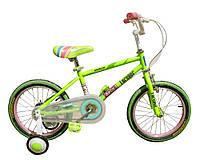 "Велосипед дитячий Forever Blue Cat 16"" зелений"