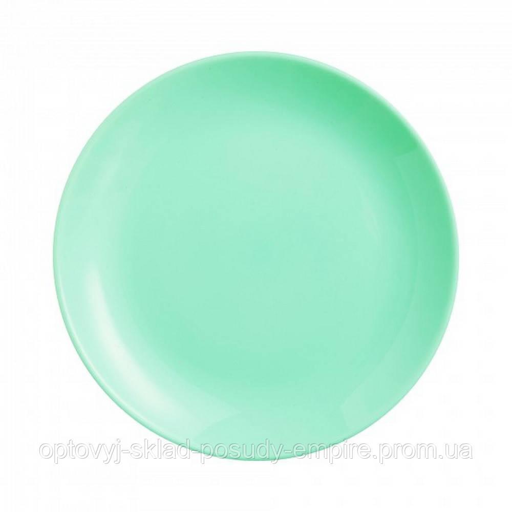 Тарілка обідня Luminarc Diwali Light Turquoise 25 см (P2611)