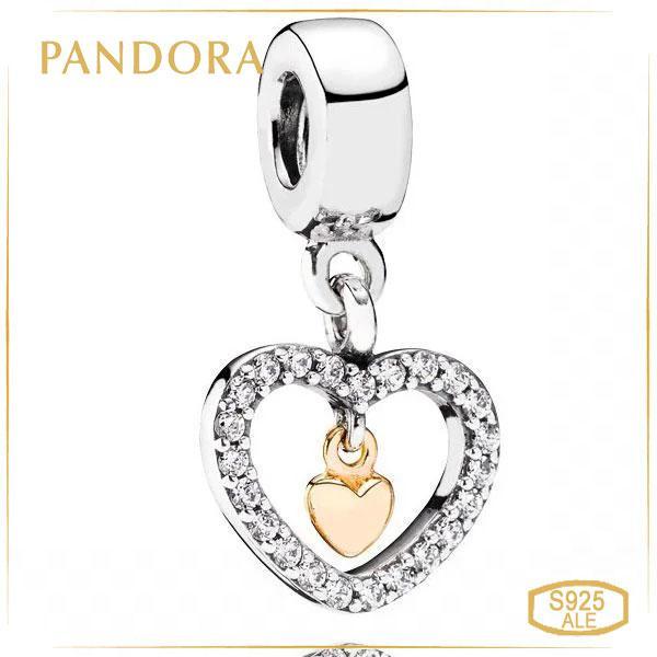 """Пандора Шарм-подвеска """"Навсегда в моем сердце"""" Pandora 791421CZ"""