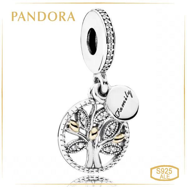 Пандора Шарм-подвеска семейное древо Pandora 791728CZ