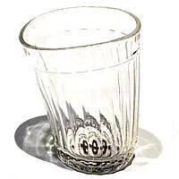 Пьяный граненный стакан Nisha Decor 200 мл ND005