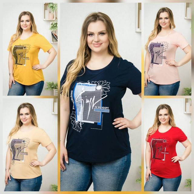 фото футболка женская