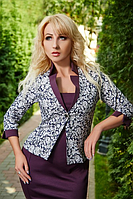 Стильный женский костюм с пиджаком, фото 1