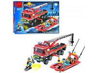 Конструктор Пожарная тревога BRICK 907