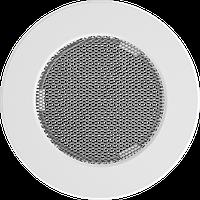 Решітка кругла біла Ø 100