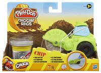 """Плей До, Игровой набор """"Машинки для строительства дорог"""""""