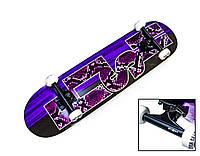 Деревянный скейтборд SNAKE SKIN, 79*20 см, клён