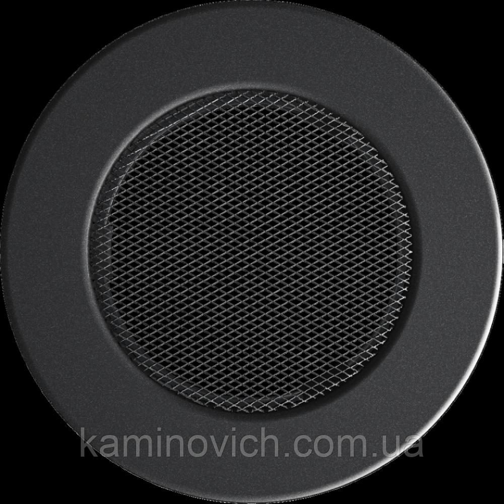 Решітка кругла графітова Ø 125