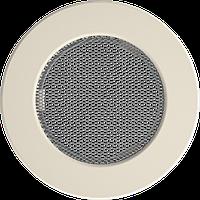 Решітка кругла кремова Ø 125