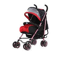 Детская коляска-трость LaBona S019B, красная