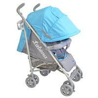 Детская коляска-трость LaBona Baby Line S 010 голубая B-1 (1241180422)