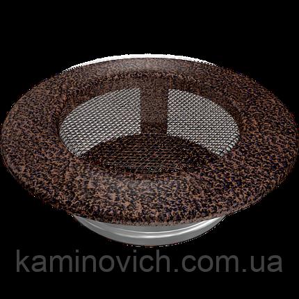 Решетка круглая медная Ø 100, фото 2