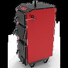 Котел на твердом топливе 32 кВт Ретра-5М Classic Standart, энергонезависимый(механический регулятор тяги), 5мм, фото 6