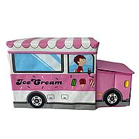 Бокс-пуфик для іграшок (Ice Cream), фото 1
