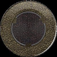 Решетка круглая черно-золотая Ø 125