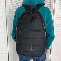 Мужской черный рюкзак Under Armour для тренировок и спорта для повседневной ходьбы сумка для тренажёрного зала