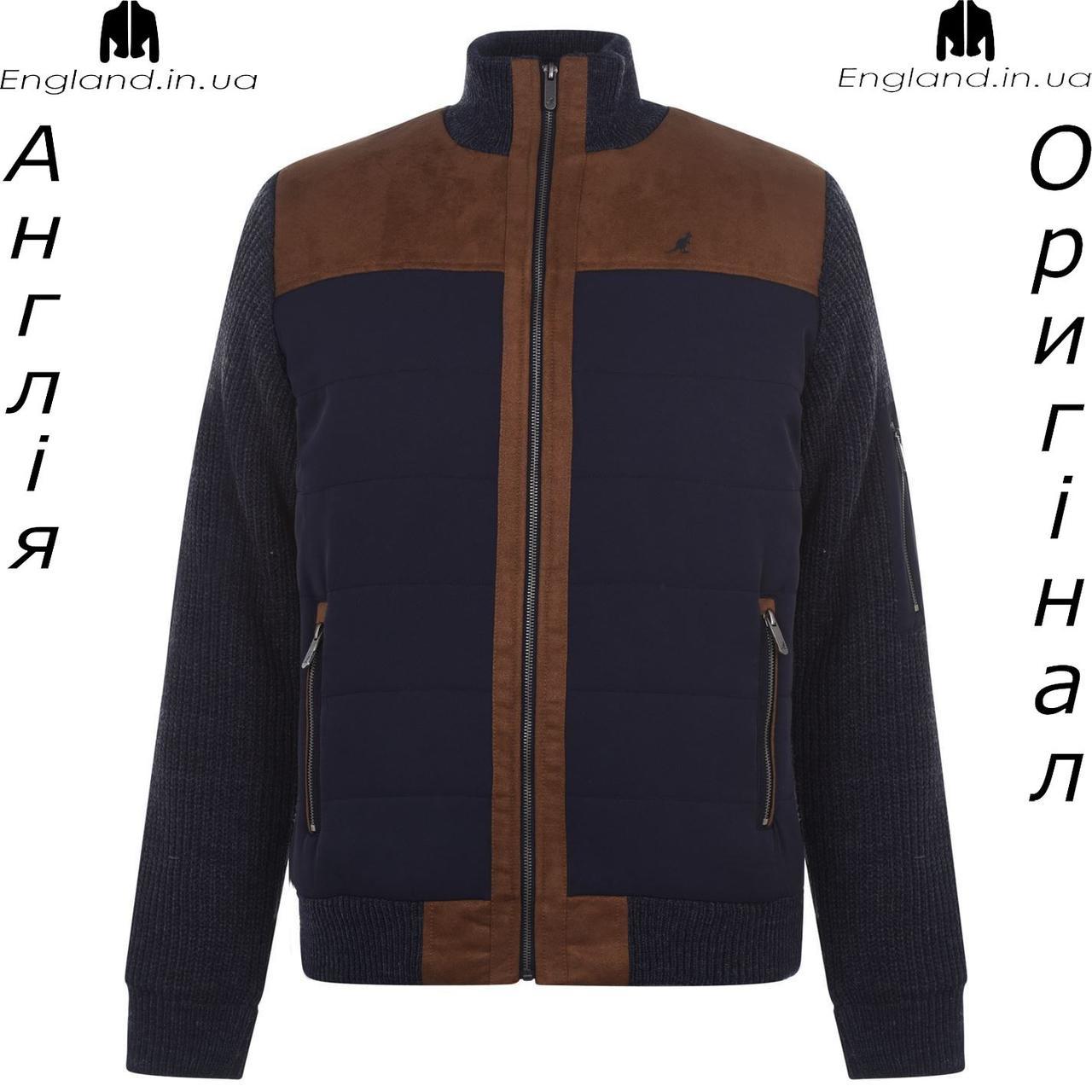 Куртка - свитер мужская Kangol из Англии - зимняя