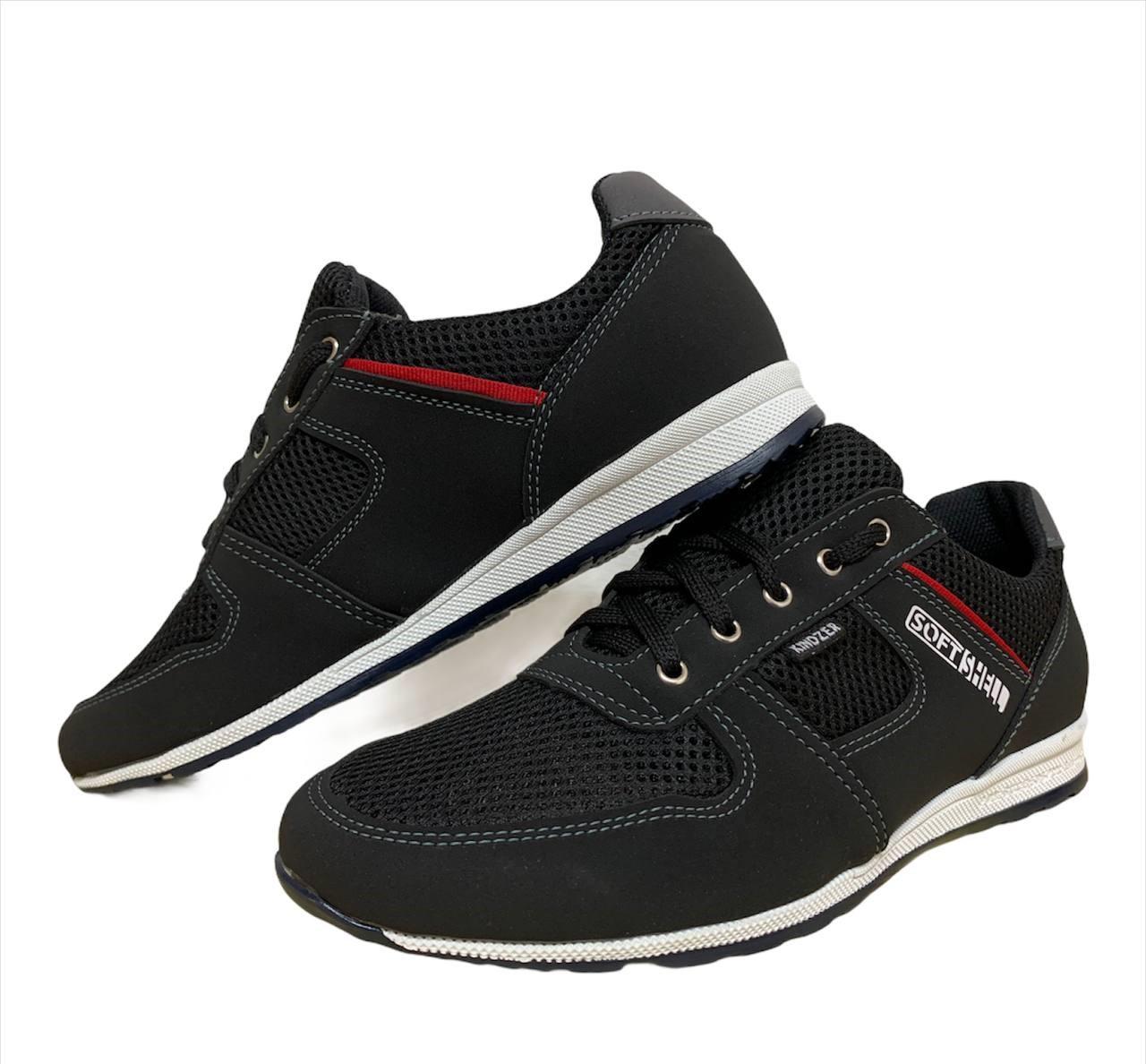Чоловічі кросівки літні чорні
