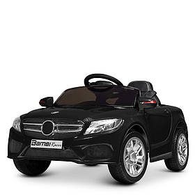 Дитячий електромобіль Mercedes (2 мотора, MP3, USB, FM) Bambi M 2772EBLR-2 Чорний