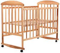 Детская кроватка Наталка, светлая, фото 1